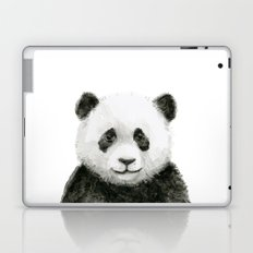 Baby Panda Whimsical Animal Watercolor Cute Baby Animals Laptop & iPad Skin