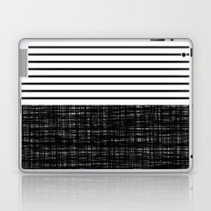 platno (black stripes) Laptop & iPad Skin