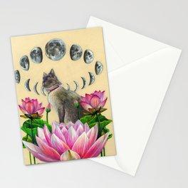 Moonphase Panda Stationery Cards