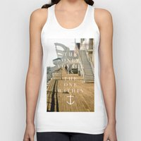 voyage Tank Tops featuring Voyage by H0D63