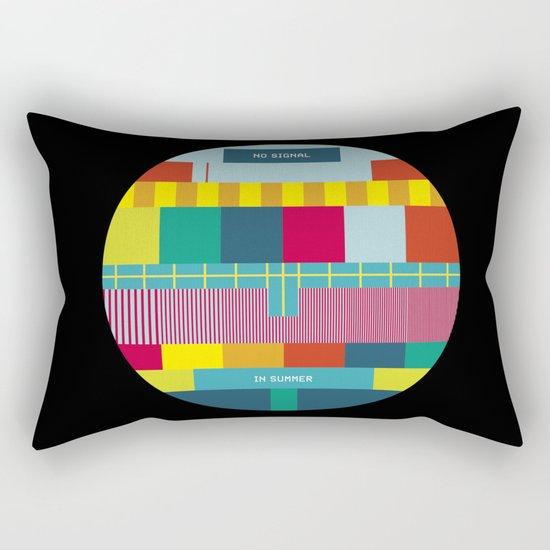 NØ SIGNAℓ Rectangular Pillow