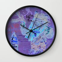 ewok Wall Clocks featuring Gwok by Beery Method