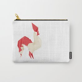 Origami Rooster Carry-All Pouch
