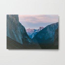 Yosemite Valley Zoom Metal Print