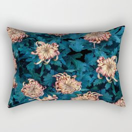 Сhrysanthemums Rectangular Pillow