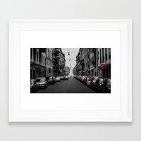 milan Framed Art Prints featuring Milan by O.K.