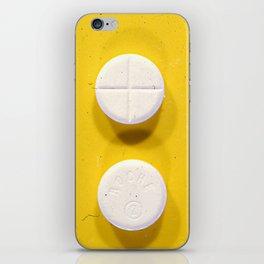 Yellow Rohypnol iPhone Skin