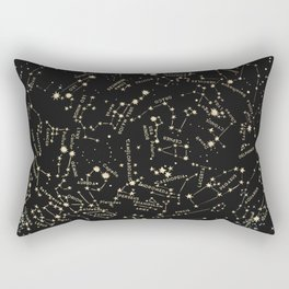 Come with me to see the stars Rectangular Pillow
