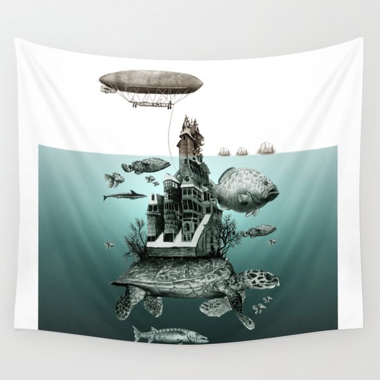 turtle Wall Tapestry