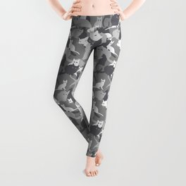 Gray camo with CATS Leggings