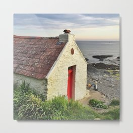 Irish cottage, Ireland Metal Print