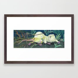 Moonrat Framed Art Print