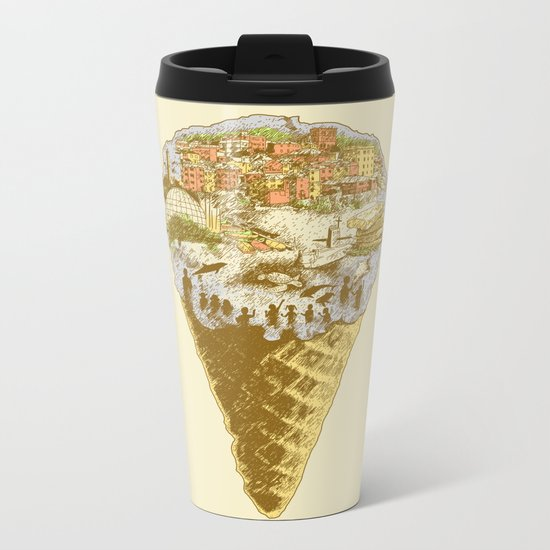 Genova Metal Travel Mug