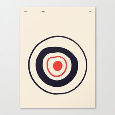 SOLAR PRIMITIVE 001 Canvas Print