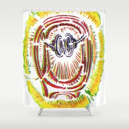 Bring the Noise Shower Curtain
