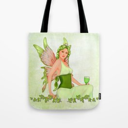 Absinthe the Green Fairy Tote Bag