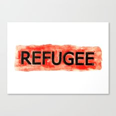 REFUGEE Canvas Print