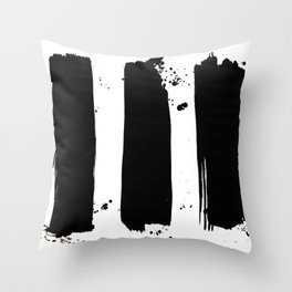 simmetry 3 Throw Pillow