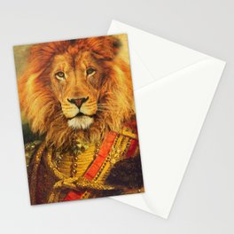 Colonel Lion Stationery Cards