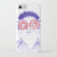 hero iPhone & iPod Cases featuring Hero by Bomburo
