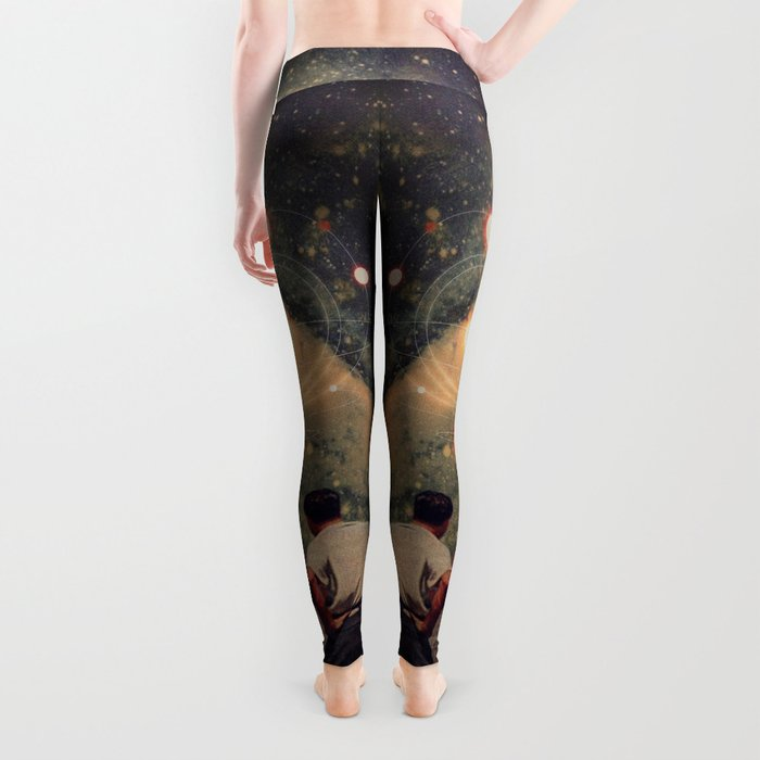 Light Explosions In Our Sky Leggings
