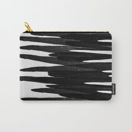 Blurred Lines bnw Carry-All Pouch