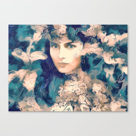The blossom Canvas Print