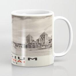 Vintage poster - Belgium Coffee Mug