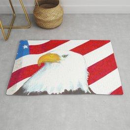 Eagle And Flag Rug
