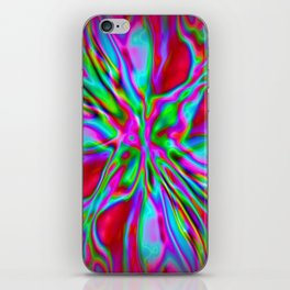 Colorfoil Radiates Red iPhone Skin