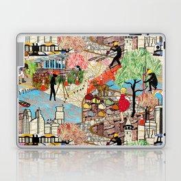 Urban Sightings Collage Detail 1 Laptop & iPad Skin