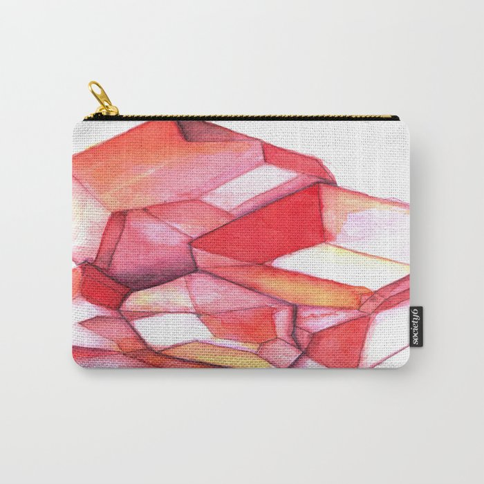 January Birthstone - Garnet Carry-All Pouch