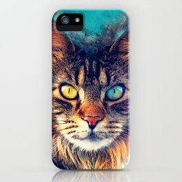 cat Friday #cat #cats #animals iPhone Case