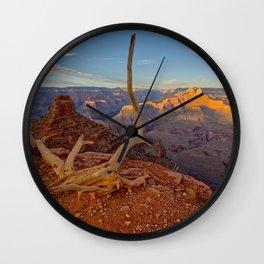 Grand Canyon View From Cedar Ridge Wall Clock