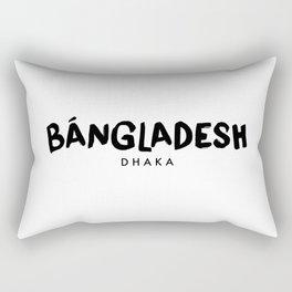 Dhaka x Bangladesh Rectangular Pillow
