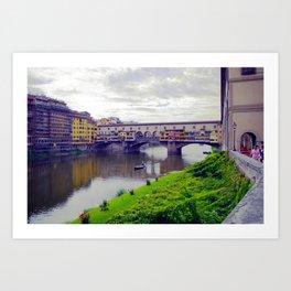 Ponte Vecchio, Florence Art Print