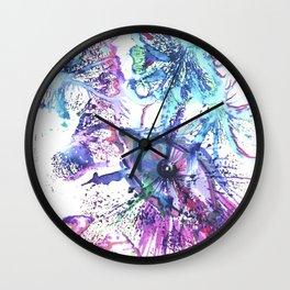 Holi Colored Mood Wall Clock