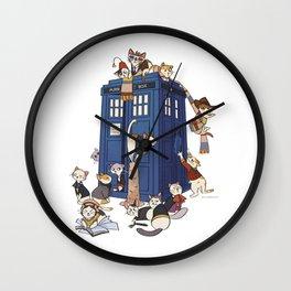 Doctor Mew Wall Clock