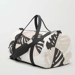 Monstera Delicious #1 #minimal #tropical #decor #art #society6 Duffle Bag