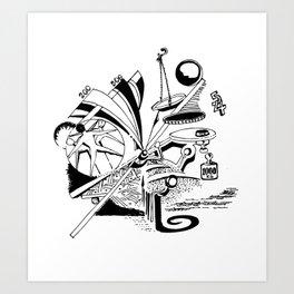 Equilibrium Art Print