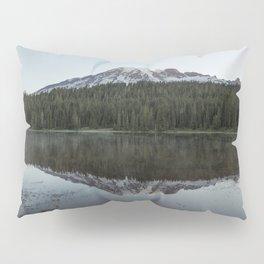Sunrise at Reflection Lake - Mount Rainier Pillow Sham