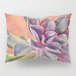 Purple Succulent Pillow Sham