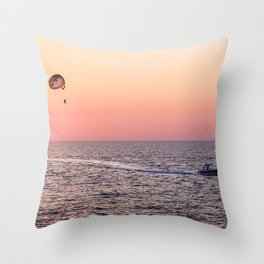 Sunny happiness Throw Pillow