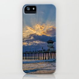 Shadows in the Sky iPhone Case