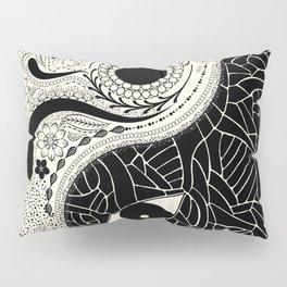 Yin & Yang - [collaborative art with Magdalla del Fresto] Pillow Sham