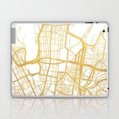 SYDNEY AUSTRALIA CITY STREET MAP ART Laptop & iPad Skin