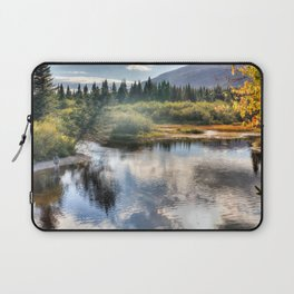 Fall Fly Fishing in Maine Laptop Sleeve