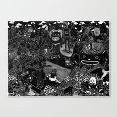 vacaciones Canvas Print