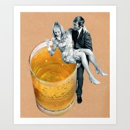 Any refreshment, dear? Art Print