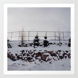 minnesota winter Art Print